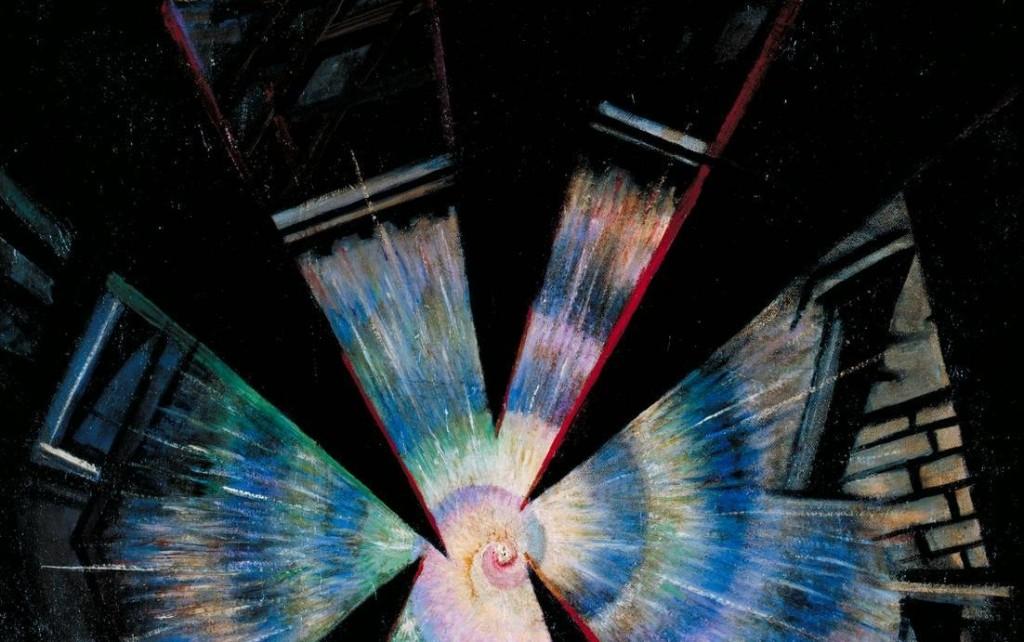 Bursting Shell 1915 Christopher Richard Wynne Nevinson 1889-1946 Purchased 1983 http://www.tate.org.uk/art/work/T03676